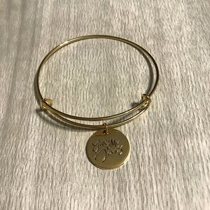 "The Daily Grace Co. ""Give Me Jesus"" Gold Bracelet"